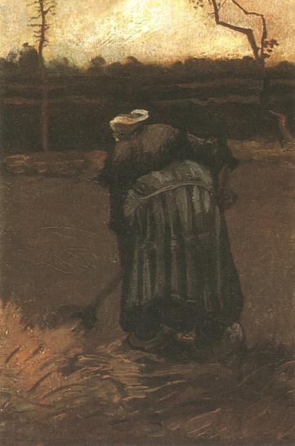 peasant woman digging version
