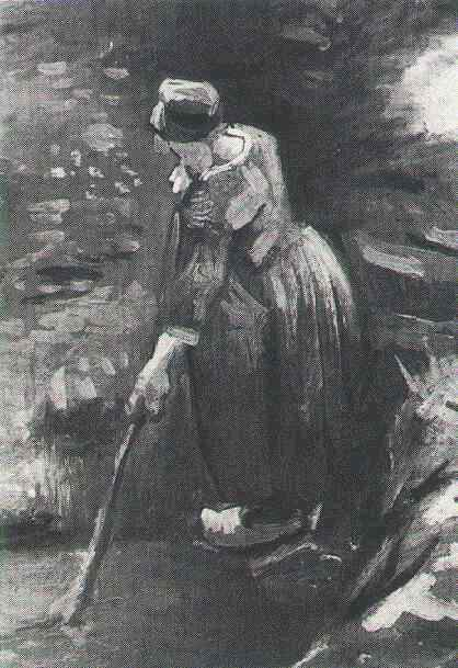 Peasant Woman Raking