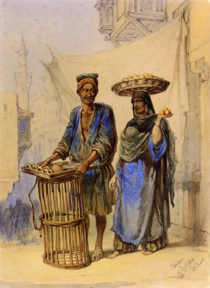 Amedeo Preziosi Orange Seller In Cairo