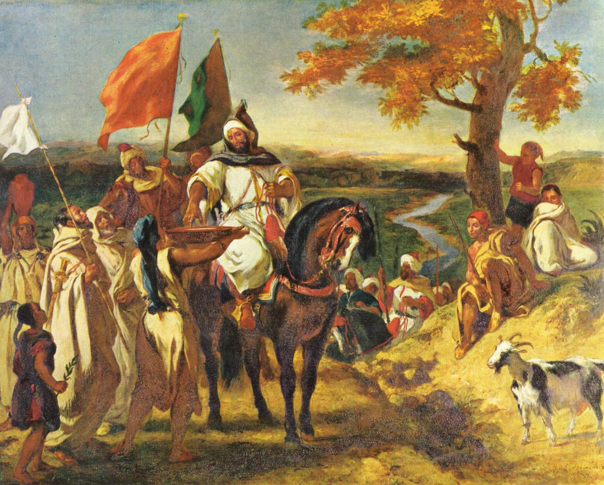 Eugene Delacroix Shaykh « Eugene Delacroix « Artists « Art might ...: artmight.com/Artists/Eugene-Delacroix/Eugene-Delacroix-Shaykh...