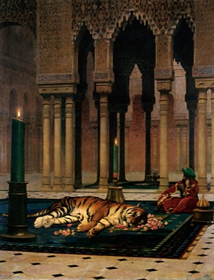 Jean Leon Gerome The Grief Of The Pasha