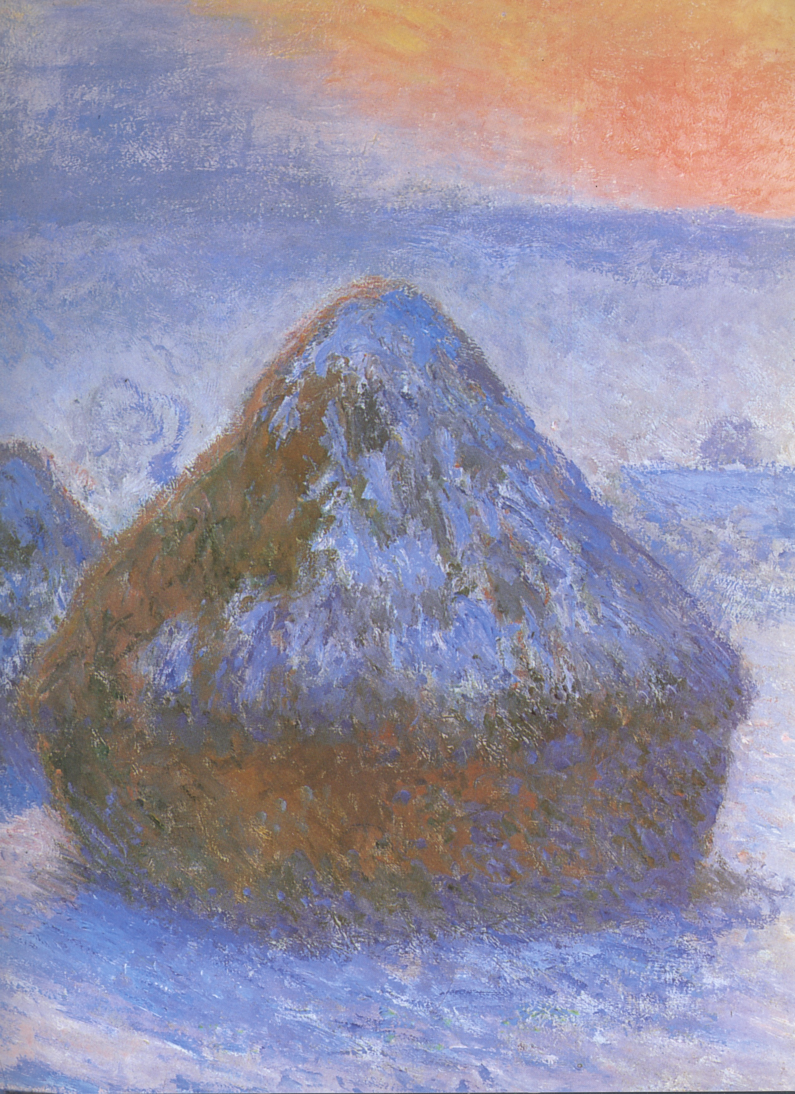 a compare contrast of monet's grainstack sunset and More info on haystacks (monet) wikis he eventually revised initial effects in a studio to both generate contrast and preserve the grainstack (sunset).
