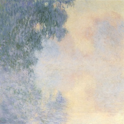 Arm of the Seine near Giverny in the Fog [1897]