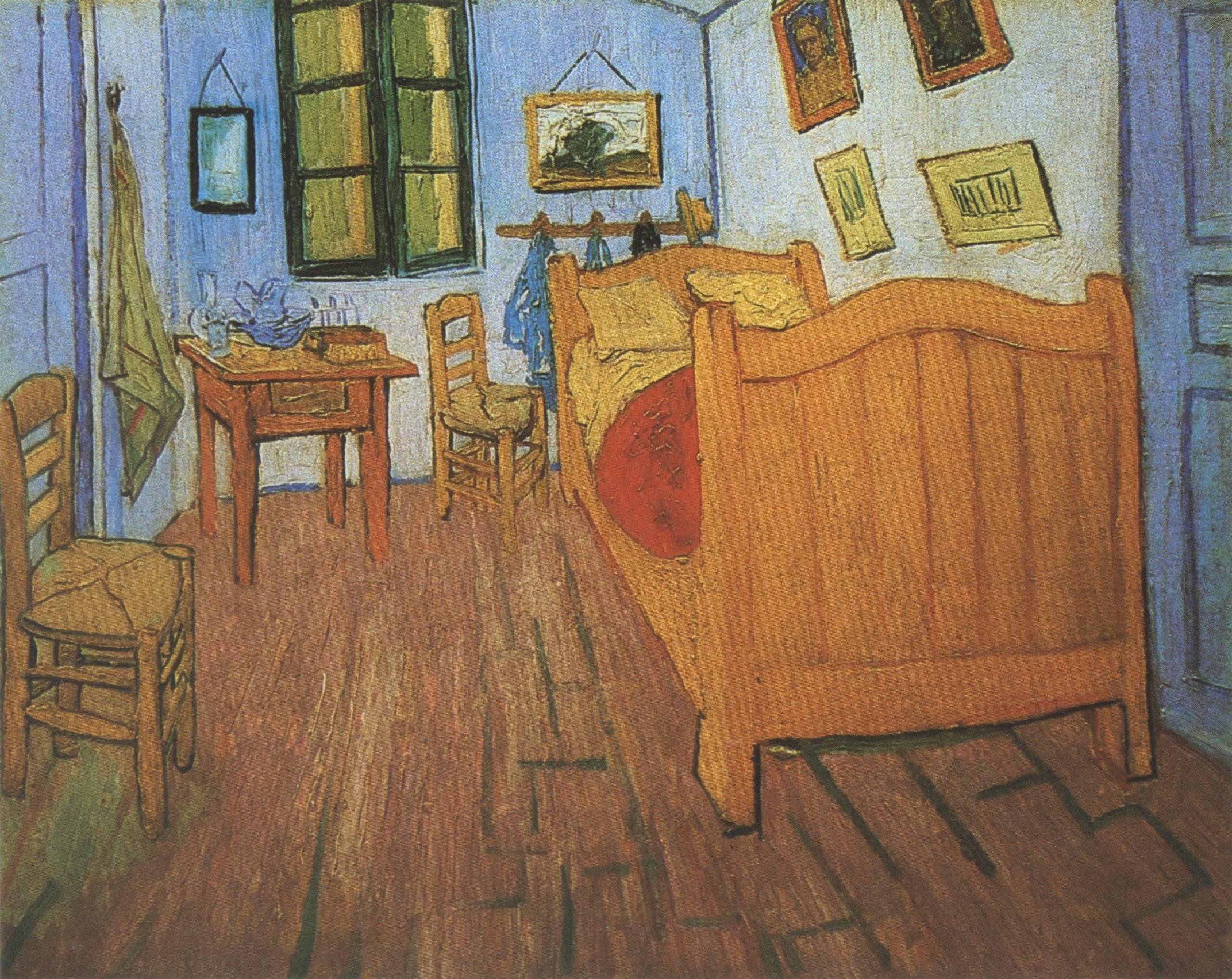 vincents bedroom in arles, arles « Vincent van Gogh (1853-1890 ...
