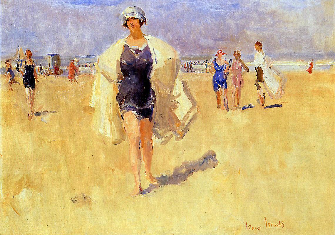 Israel Isaac Lady on the beach of Viareggio Sun « Israels Isaac