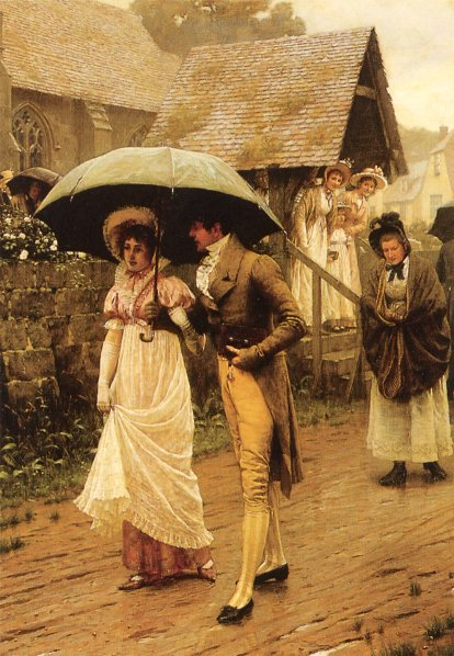 Leighton, Edmund Blair A Wet Sunday Morning end