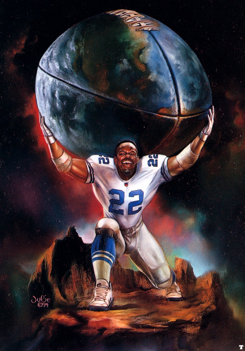 jb 1994 emmitt smith bell julie artists art might