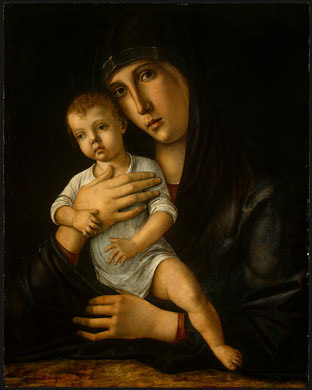 BELLINI,G  MADONNA AND CHILD, C  1475, NGW