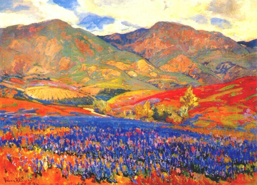 Bischoff spring flowers san fernando valley c1925 bischoff franz bischoff spring flowers san fernando valley c1925 mightylinksfo