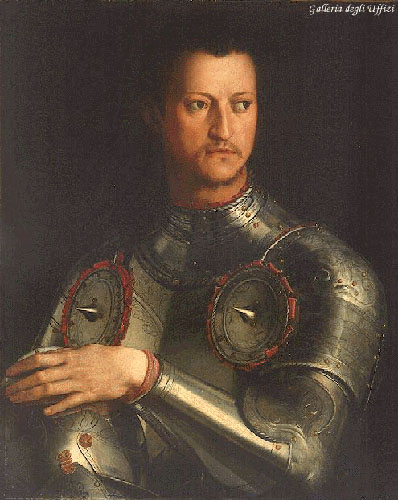 bronzino, portrait of cosimo i