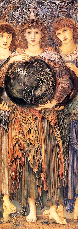 Burne Jones Days of Creation The 3rd Day end