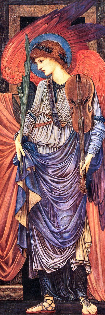 Edward Burne Jones Musical Angels, De