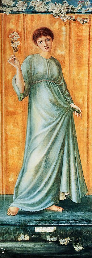 Edward Burne Jones The Seasons, Spring, De