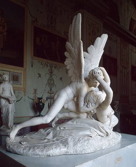 amor and psyche. antonio cupid and psyche