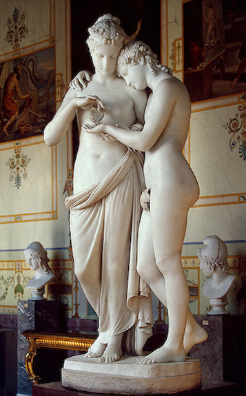 canova antonio cupid and psyche