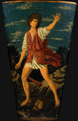 Andrea del Castagno The Youthful David, c 1450, NG Washingt