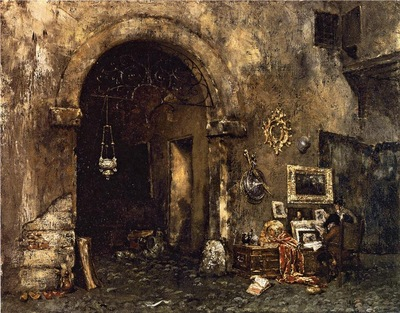 Chase William Merritt The Antiquary Shop