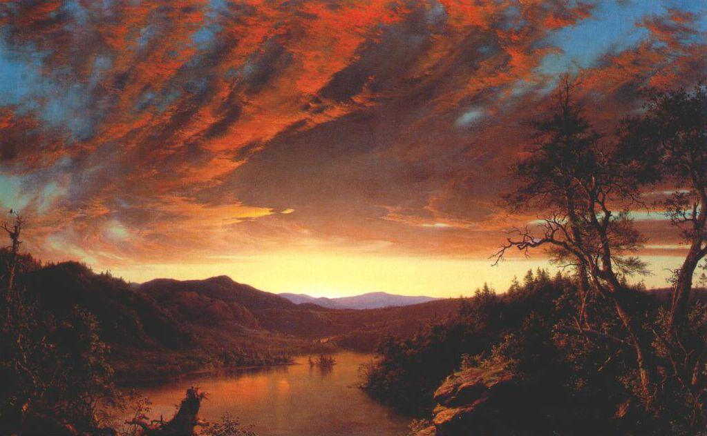 twilight in the wilderness