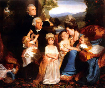 Y09 John Singleton Copley The Copley Family sqs