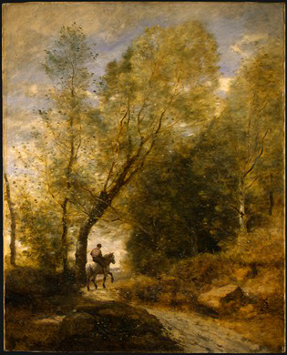 Corot The Forest of Coubron, 1872, NG Washington