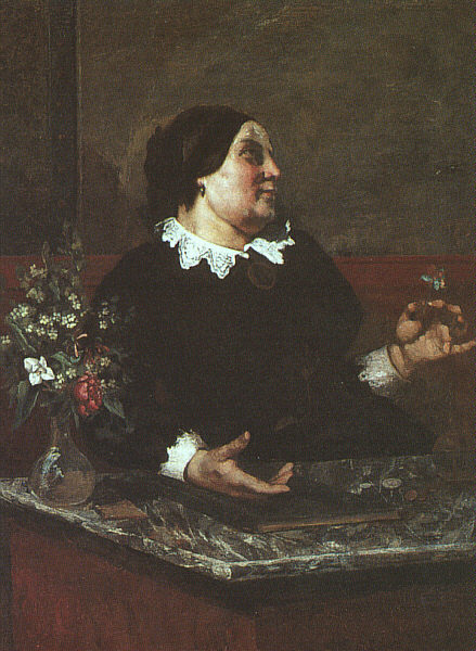 Courbet La Mere Gregoire, 1855 59, The Art Institute of Chic