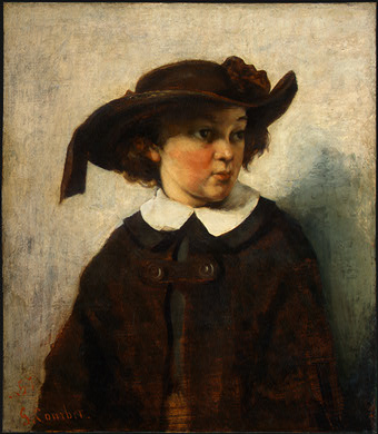 Courbet Portrait of a Young Girl, 1857, NG Washington