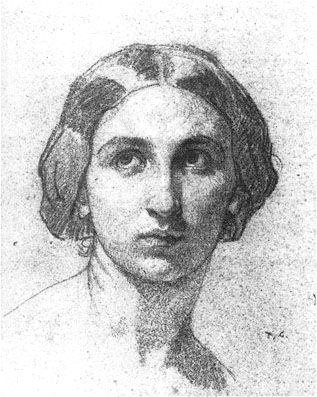 Head of a Woman c1853