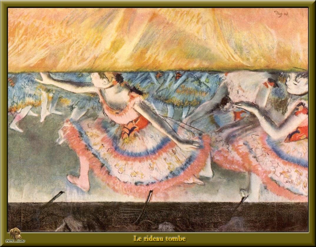 po degas 35 le rideau tombe « Degas Hilaire Germain Edgar « Artists ...