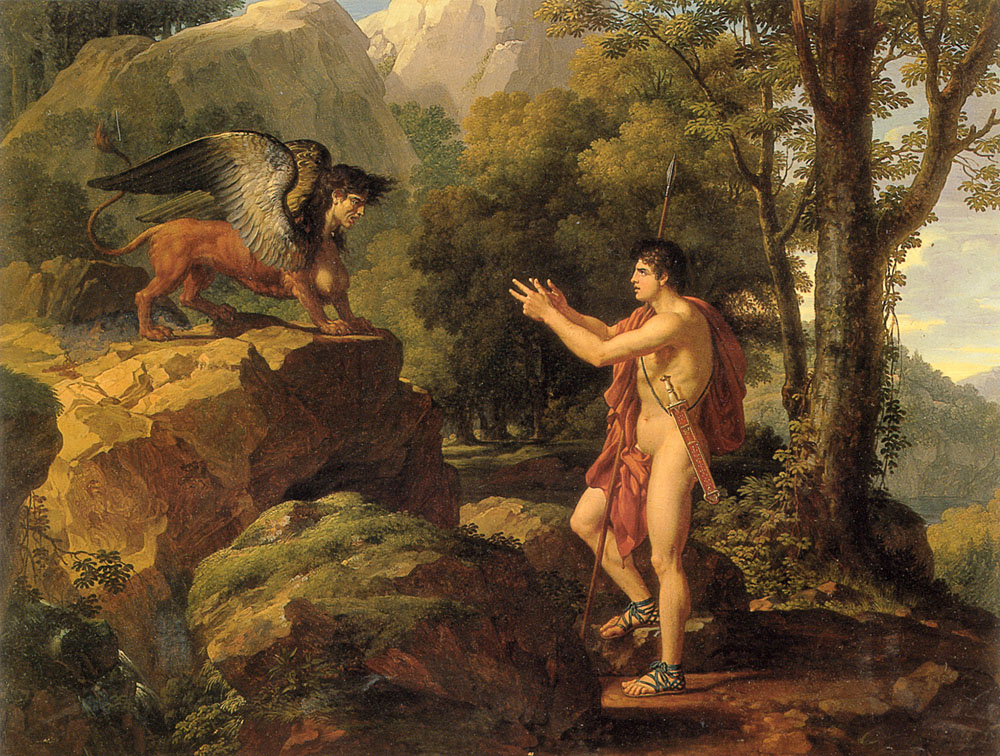 an argument of oedipus as king of riddles