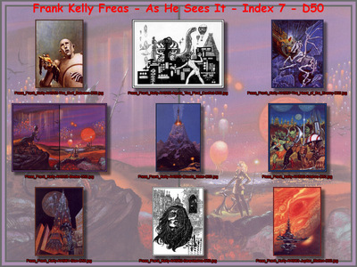 Freas Frank Kelly As He Sees It Index 7 D50
