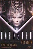 poster darkseed video gamer 100x70cm