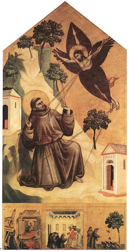 giotto stigmatization of st francis