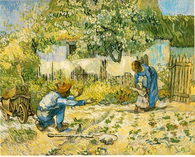 van Gogh First Steps after Millet , 1890, 72 4x91 2 cm, The