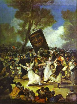 Francisco de Goya The Burial of the Sardine