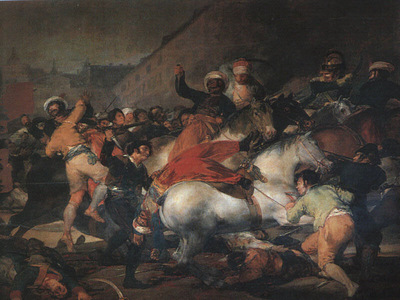 Goya The Second of May 1808, 1814, oil on canvas, Museo del