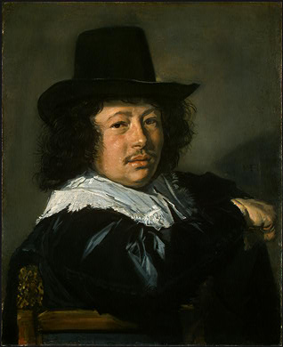 HALS PORTRAIT OF A YOUNG MAN, 1646 1648, NGW