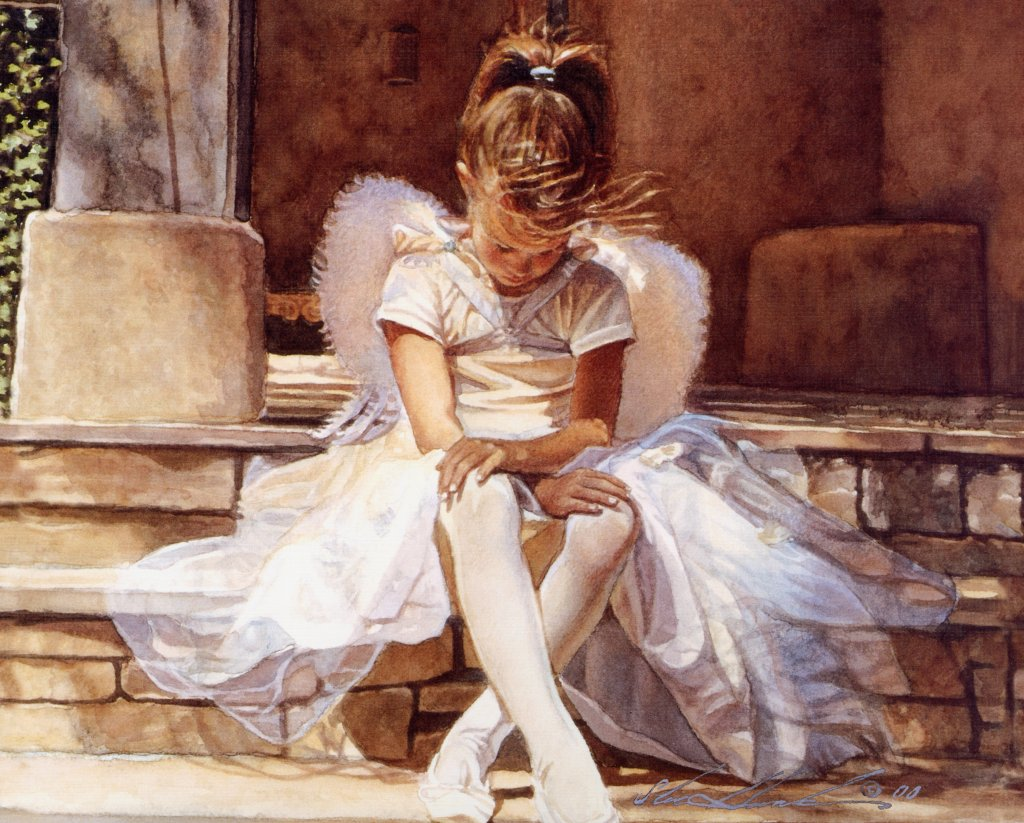 Nude watercolors of steve hanks 8