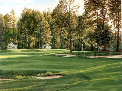 hallowed ground csg026 pinehurst 5th hole