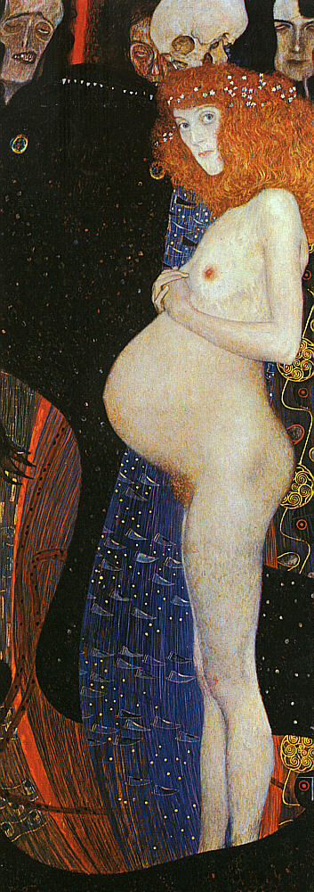 Klimt Hope I, 1903, oil on canvas, The National Gallery, Ott