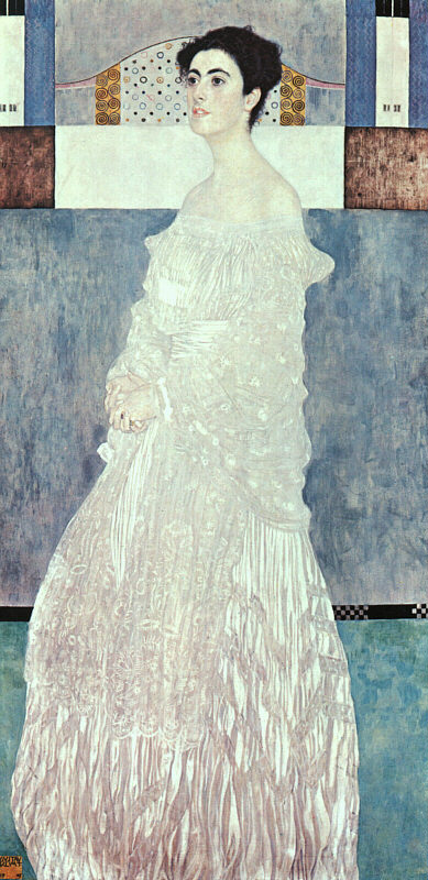 Klimt Margaret Stonborough Wittgenstein, 1905, oil on canvas