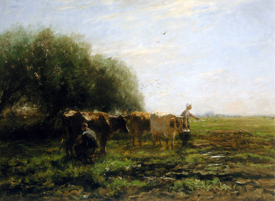 Maris Willem Milking bend Sun