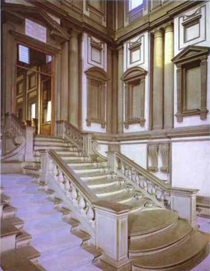 Michelangelo Vestibule of the Laurentian Library
