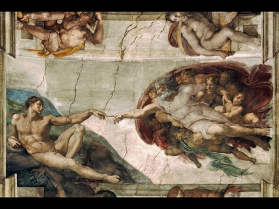creation of adam, michelangelo 1600x1200 id