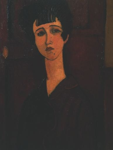 Modigliani Portrait of a girl, ca 1917, Tate gallery