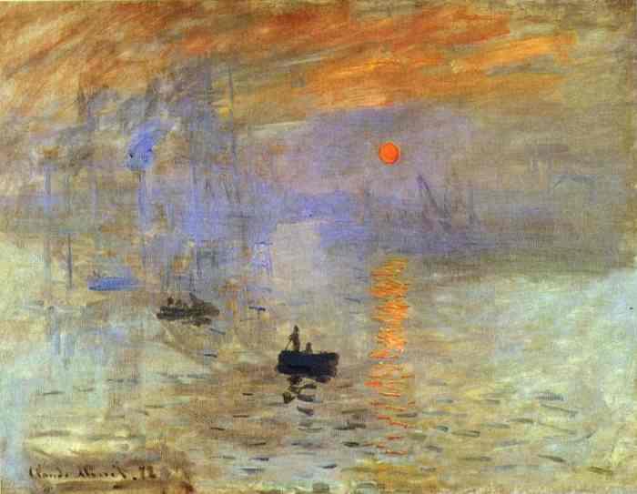 Impressionism Monet Sunrise Claude Monet Im...