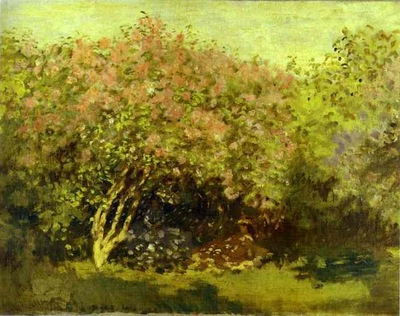 Claude Monet Lilacs in the Sun