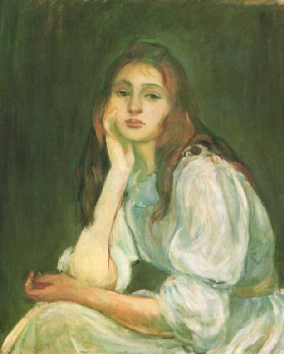 morisot julie dreaming