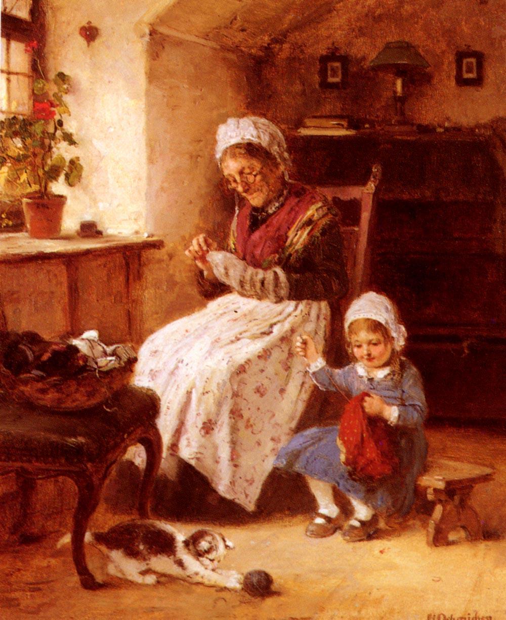 История возникновения развития вышивки