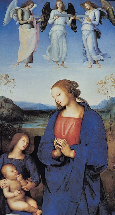 Pietro Perugino The Virgin Child, De