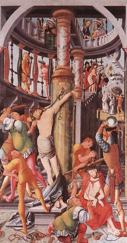 RATGEB Jorg Flagellation Of Christ « Jorg Ratgeb [German